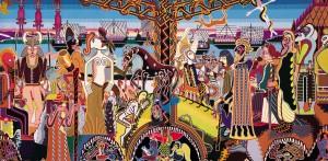 Dronningens Gobeliner, Vikingetid