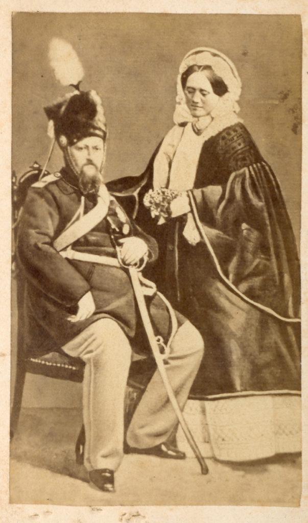 Kong Frederik VII og grevinde Danner